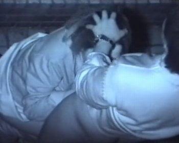 青姦を暗視カメラで隠し撮り