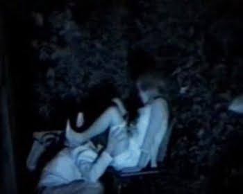 暗視カメラで青姦盗撮